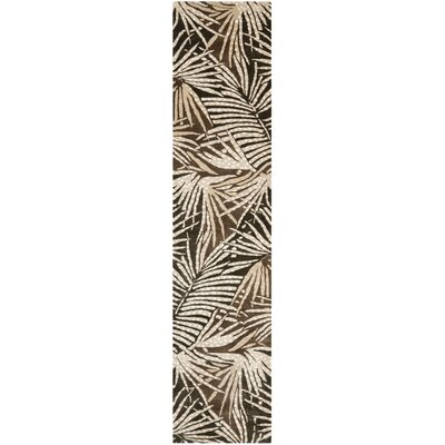 Martha Stewart Coconut/Brown Area Rug Rug Size: Runner 23 x 10