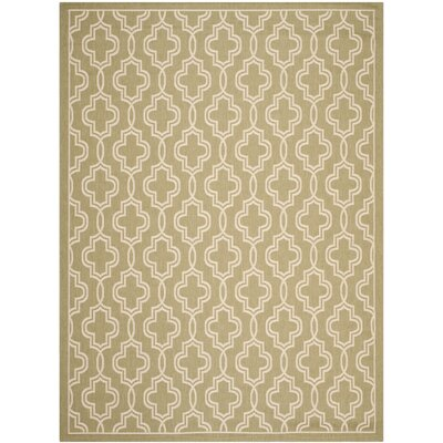 Martha Stewart Green/Beige Area Rug Rug Size: Rectangle 67 x 96