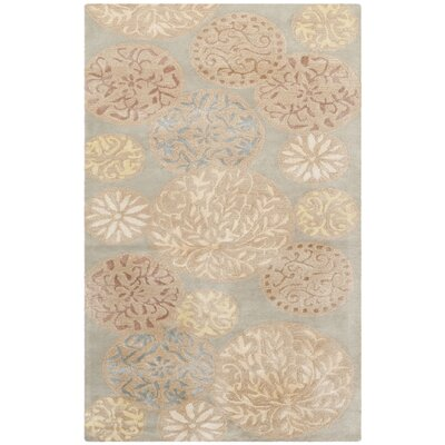 Martha Stewart Herbal Garden Area Rug Rug Size: 79 x 99