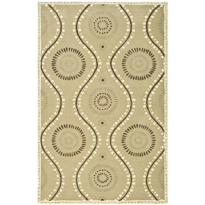 Martha Stewart Tufted / Hand Loomed Alpaca Area Rug Rug Size: Rectangle 4' x 6'