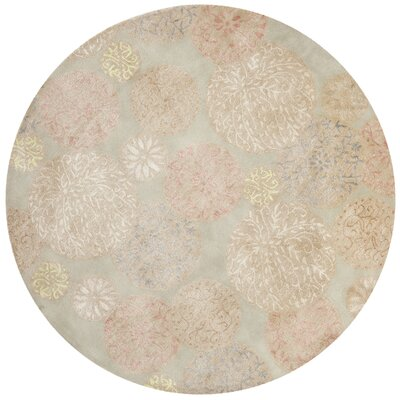 Martha Stewart Herbal Garden Area Rug Rug Size: Round 6