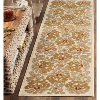 Martha Stewart Dahlia Tufted / Hand Loomed Area Rug Rug Size: Rectangle 27 x 4
