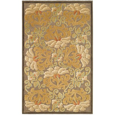 Martha Stewart Dahlia Tufted / Hand Loomed Area Rug Rug Size: Rectangle 4 x 57
