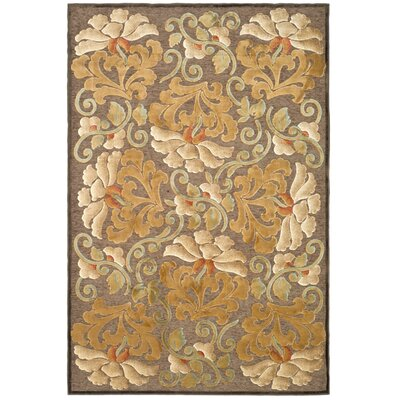 Martha Stewart Dahlia Tufted / Hand Loomed Area Rug Rug Size: Rectangle 3'3