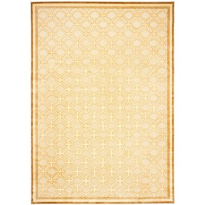 Martha Stewart Tufted / Hand Loomed Shortbread Area Rug Rug Size: Rectangle 4' x 5'7