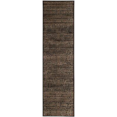 Martha Stewart Heritage Bloom Brown Area Rug Rug Size: Rectangle 27 x 4