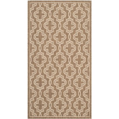 Martha Stewart Brown/Beige Area Rug Rug Size: Rectangle 8 x 112