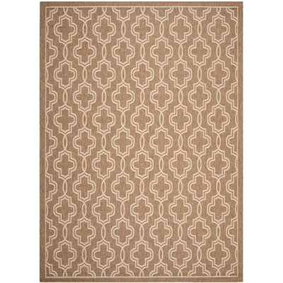 Martha Stewart Brown/Beige Area Rug Rug Size: 67 x 96