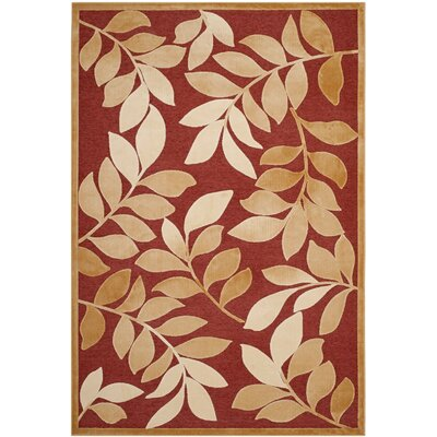 Martha Stewart Leafy Glade Area Rug Rug Size: Rectangle 53 x 76