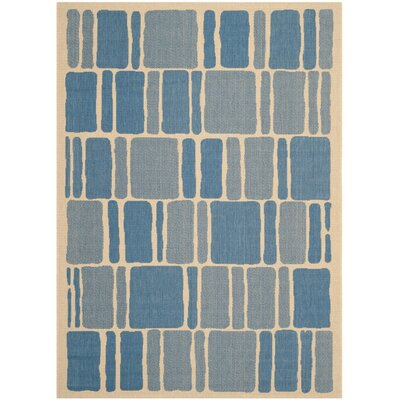 Martha Stewart Blocks Multi Area Rug Rug Size: 53 x 77