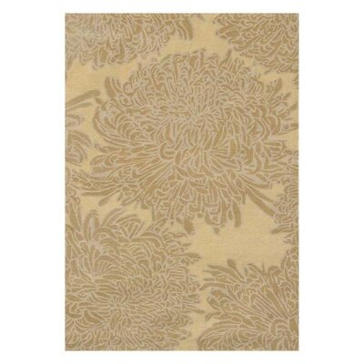 Martha Stewart Chrysanthemum Tufted / Hand Loomed Area Rug Rug Size: 4 x 6