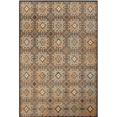 Martha Stewart Brown Area Rug Rug Size: 51 x 76