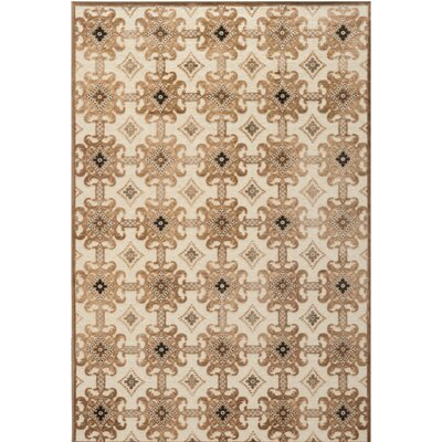 Martha Stewart Caramel/Cream Area Rug Rug Size: Rectangle 8 x 10
