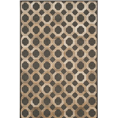 Martha Stewart Soft Anthracite / Anthracite Area Rug Rug Size: 51 x 76