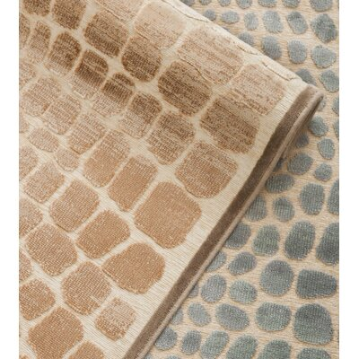 Martha Stewart Mouse / Cream Area Rug Rug Size: 33 x 53