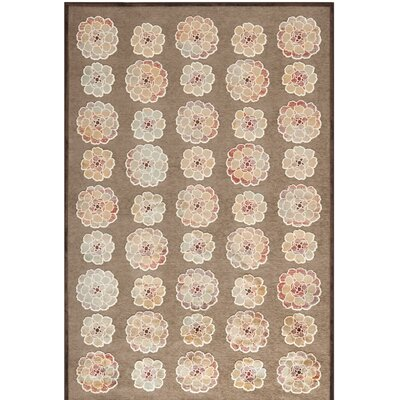 Martha Stewart Brown Area Rug Rug Size: Rectangle 51 x 76