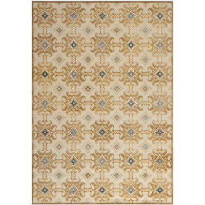 Martha Stewart Taupe/Cream Area Rug