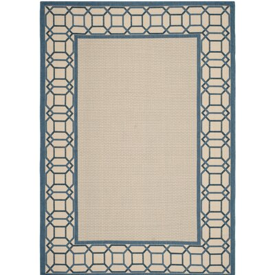 Martha Stewart Azurite Blue Area Rug Rug Size: Rectangle 53 x 77
