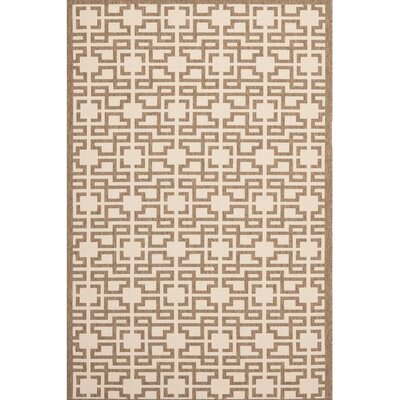 Martha Stewart Beige / Brown Area Rug