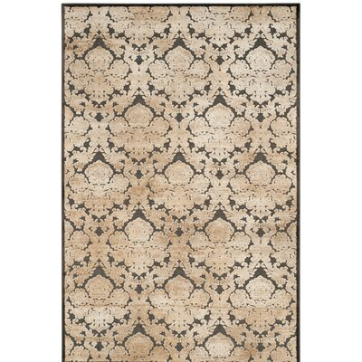 Martha Stewart Soft Anthracite / Anthracite Area Rug Rug Size: Rectangle 51 x 76