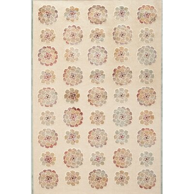 Martha Stewart Spruce / Cream Area Rug Rug Size: Rectangle 33 x 53