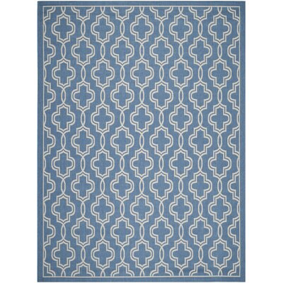 Martha Stewart Beige/Blue Area Rug Rug Size: Rectangle 8 x 112