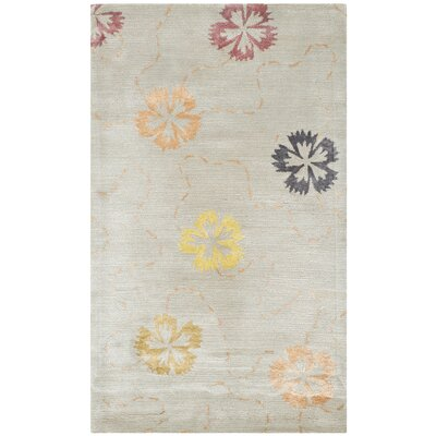 Martha Stewart Pearl / Gray Area Rug Rug Size: Rectangle 79 x 99