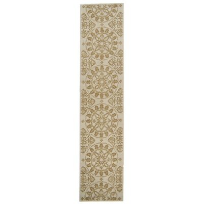 Martha Stewart Hand-Tufted Cotton Shale Area Rug Rug Size: Runner 23 x 10
