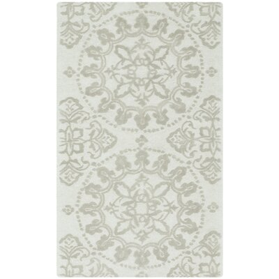Martha Stewart Hand-Tufted Cotton Shale Area Rug Rug Size: Rectangle 96 x 136