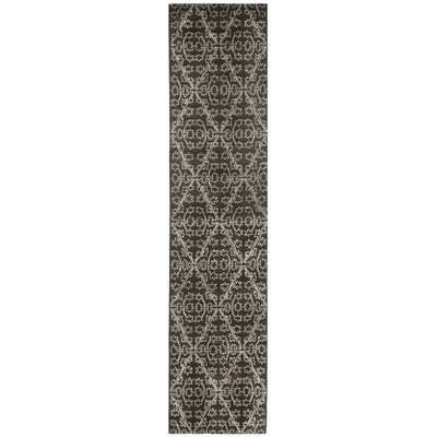 Martha Stewart Coffee / Brown Area Rug Rug Size: Runner 23 x 10