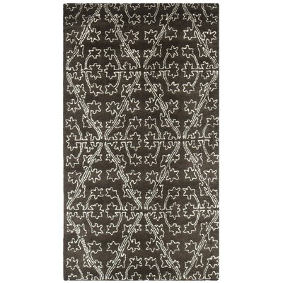 Martha Stewart Coffee / Brown Area Rug Rug Size: 26 x 43
