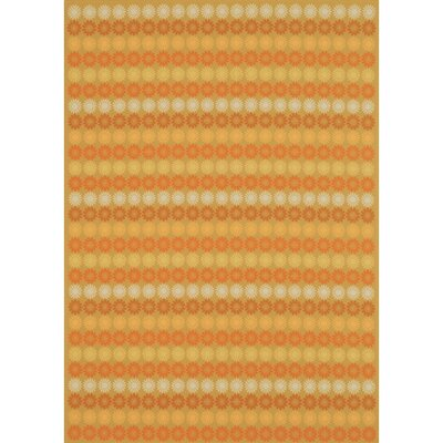 Sunstripe Cinnamon Rug Rug Size: Rectangle 91 x 101