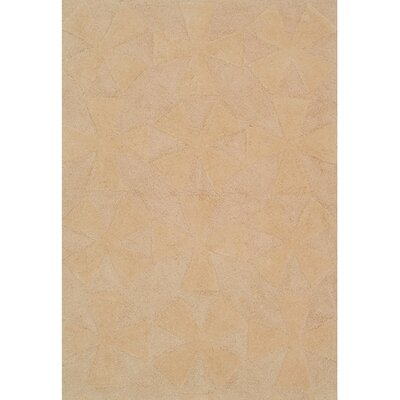Navigation Discon Beige Area Rug Rug Size: Rectangle 56 x 86