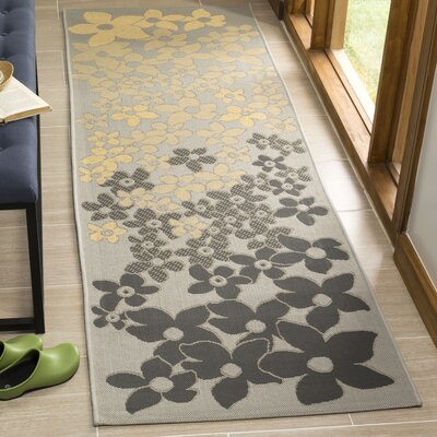 Martha Stewart Field Flowers Multi Area Rug Rug Size: Runner 27 x 82