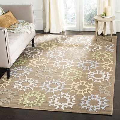 Martha Steeart Pebble/Gray Area Rug Rug Size: Rectangle 5'6