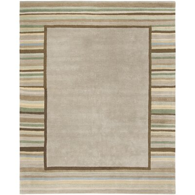 Hand-Woven Tadpole Green Area Rug Rug Size: Rectangle 8 x 10