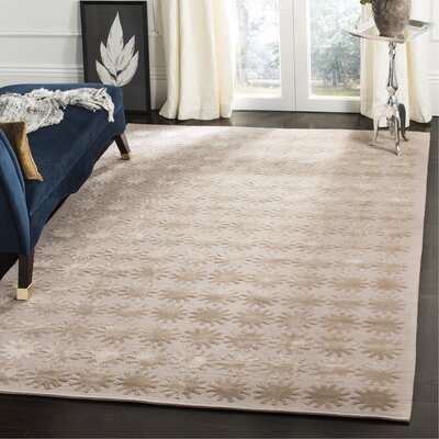 Hand-Tufted Day/Break Area Rug Rug Size: Rectangle 56 x 86