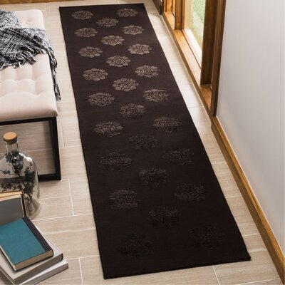 Martha Stewart Medallions Onyx Area Rug Rug Size: Rectangle 26 x 43