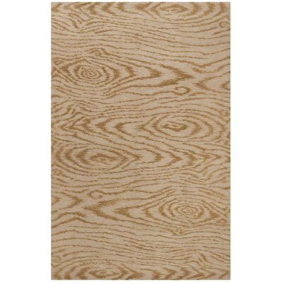 Martha Stewart Faux Bois Porcini Area Rug Rug Size: Rectangle 56 x 86