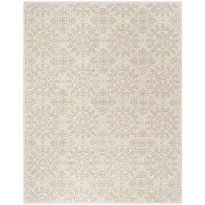 Martha Stewart Hand-Tufted Cotton Shale Area Rug Rug Size: Rectangle 79 x 99