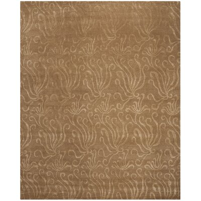 Seaflora Hand-Tufted Beige/Yellow Area Rug Rug Size: Rectangle 79 x 99