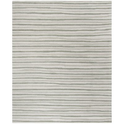 Martha Stewart Nmbus Cloud Gray Area Rug Rug Size: Rectangle 8 x 10