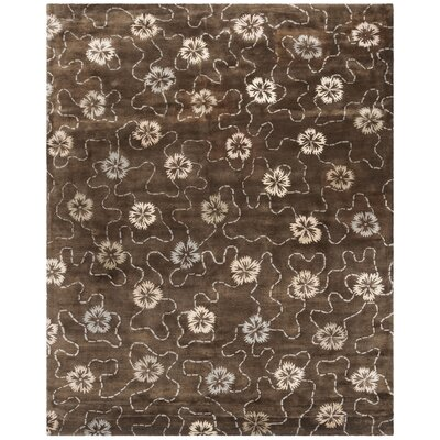 Martha Stewart Mocha Area Rug Rug Size: Rectangle 79 x 99
