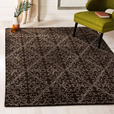 Martha Stewart Coffee / Brown Area Rug Rug Size: Rectangle 56 x 86