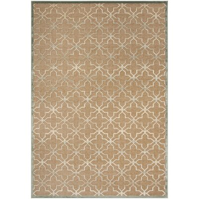 Star Gradient Brown Area Rug Rug Size: Rectangle 8 x 112