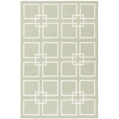 Dance Hand-Tufted Fennel Seed Green Area Rug Rug Size: Rectangle 4 x 6