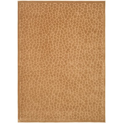 Martha Stewart Reptilian Brown Area Rug Rug Size: Rectangle 53 x 76