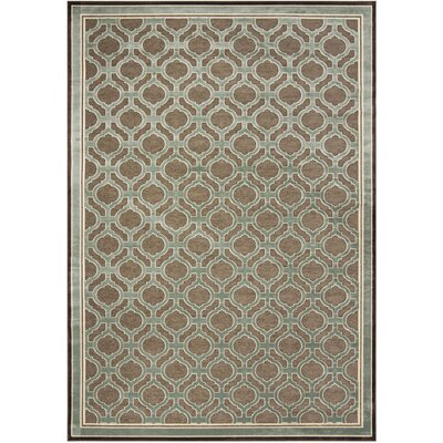 Martha Stewart Tufted / Hand Loomed Brown/Green Area Rug Rug Size: Rectangle 8 x 112