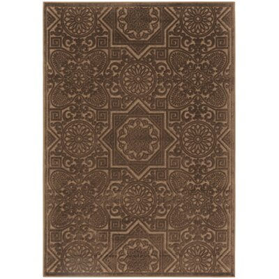 Wayfarer Hand-Loomed Light Brown Area Rug Rug Size: Rectangle 4 x 57