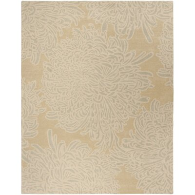 Martha Stewart Chrysanthemum Tufted / Hand Loomed Area Rug Rug Size: Rectangle 9 x 12